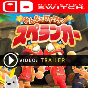 Minna de Waiwai Spelunker Nintendo Switch Prices Digital or Box Edition