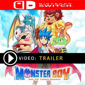 Monster Boy And The Cursed Kingdom Nintendo Switch Prices Digital or Box Edition