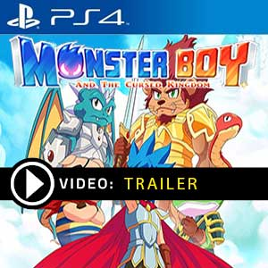 Monster Boy and the Cursed Kingdom PS4 Prices Digital or Box Edition