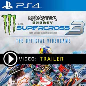 Monster Energy Supercross The Official Videogame 3 PS4 Prices Digital or Box Edition