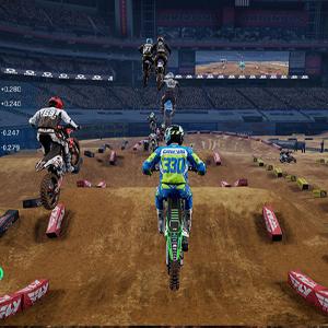Monster Energy Supercross 4 Jump