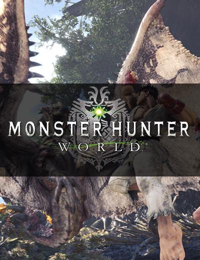Ryu and Sakura will be Crossing Over to Monster Hunter World