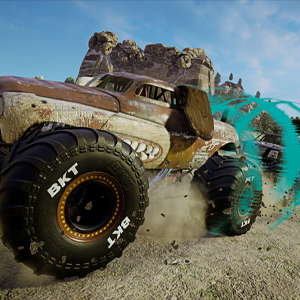 Monster Jam Steel Titans 2 Dog Monster Truck