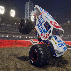Monster Jam Steel Titans 2 Ice Cream Man Monster Truck