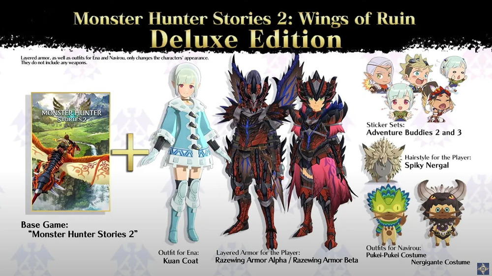 buy monster hunter stories 2: wings of ruin deluxe edition cheap