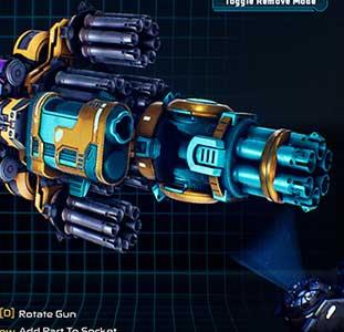 Craft gun monstrosities