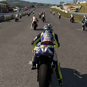 MotoGP 15 - Player View