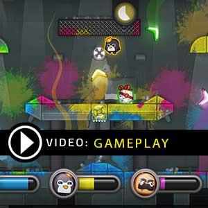 Move or Die PS4 Gameplay Video