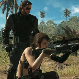 Metal Gear Solid 5 The Phantom Pain PS4 Venom Snake and Quiet