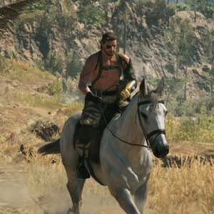 Metal Gear Solid 5 The Phantom Pain PS4 Horse Ride