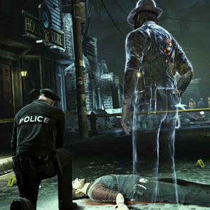 Murdered Soul Suspect PS4 Investigating your own murder