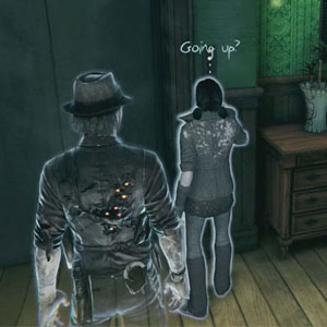 Murdered Soul Suspect PS4 With a fellow ghost