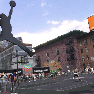 NBA 2K18 Neighborhood Playground