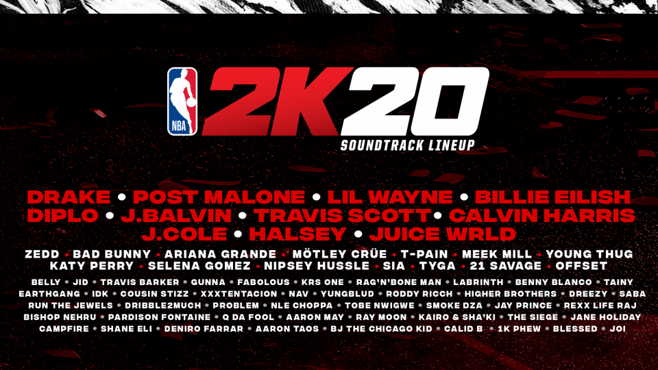 NBA 2K20 Soundtrack