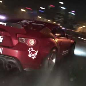 Need for Speed 2015 PS4 Drifting