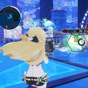 Neptunia Virtual Stars combat