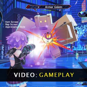 Neptunia Virtual Stars Gameplay Video