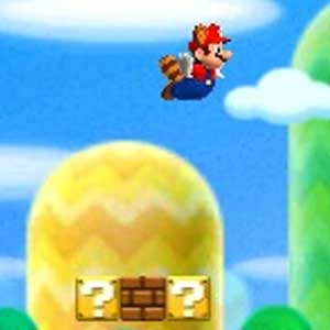 New Super Mario Bros 2 Nintendo 3DS Jumping
