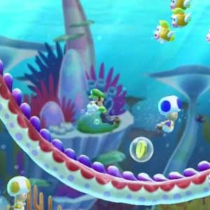 New Super Mario Bros U Wii U Gameplay