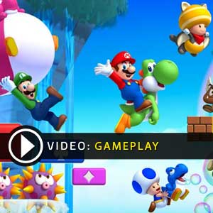New Super Mario Bros U Wii U Gameplay Video