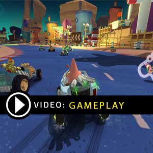 Nickelodeon Kart Racer Xbox One Gameplay Video
