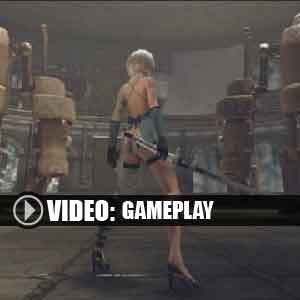 Nier Automata Gameplay video