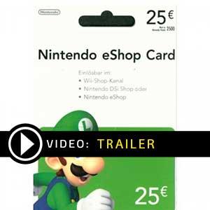 Nintendo eShop 25 Euro trailer video