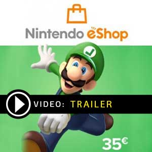 Buy Nintendo eShop Card 35 EUR Card CD Key Compare Prices
