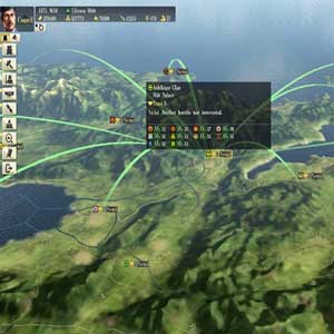 Nobunagas Ambition Sphere of Influence PS4 Map