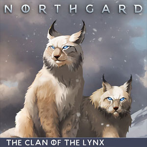 Northgard Brundr & Kaelinn Clan of the Lynx