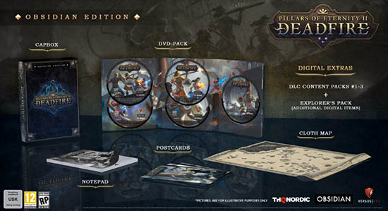 Pillars of Eternity 2: Deadfire Editions Cover
