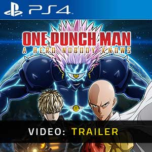One Punch Man A Hero Nobody Knows PS4 Video Trailer