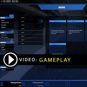 Open Wheel Manager Gameplay Video