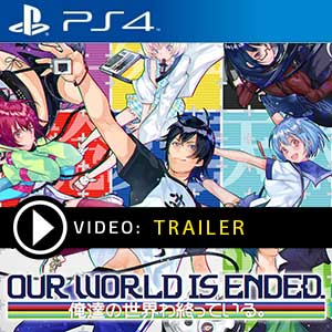 Our World is Ended PS4 Prices Digital or Box Edition