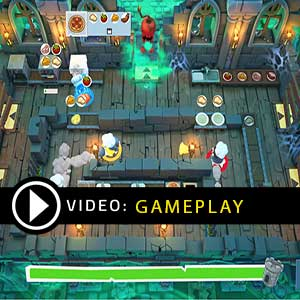 Overcooked 2 Night of the Hangry Horde PS4 Gameplay Video