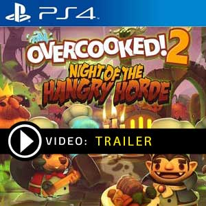Overcooked 2 Night of the Hangry Horde PS4 Prices Digital or Box Edition