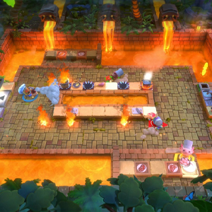 Overcooked All You Can Eat Lava Kitchen