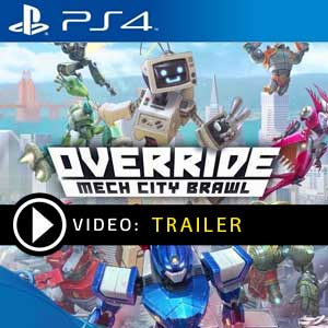 Override Mech City Brawl PS4 Prices Digital or Box Edition