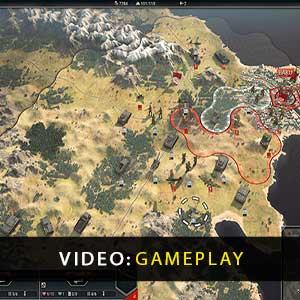 Panzer Corps 2 Gameplay Video