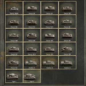 Panzer Corps Store