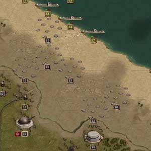 Seashore attack formation