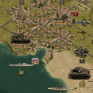 Air, Water War vehicles