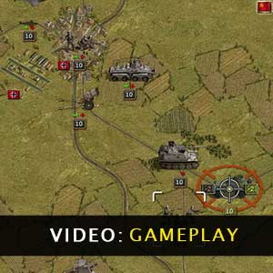 Panzer Corps Gold Gameplay Video