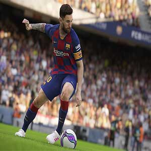 PES 2020 Messi in action