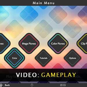 PICROSS S4 Gameplay Video