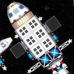 Outer space shuttle