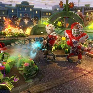 Plants vs Zombies Garden Warfare PS4 Fight