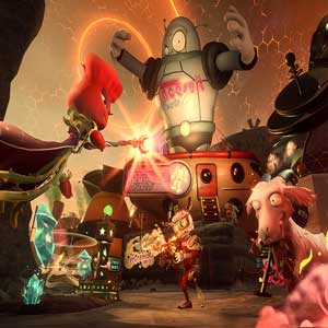 Plants vs Zombies Garden Warfare 2 PS4 Rose on the moon