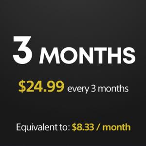 Playstation Plus Membership 3 Months