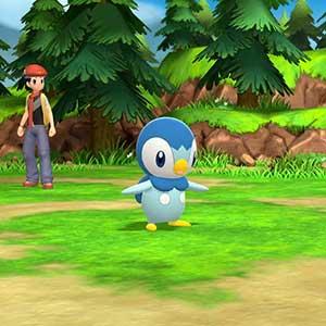 Pokémon Brilliant Diamond Nintendo Switch Piplup